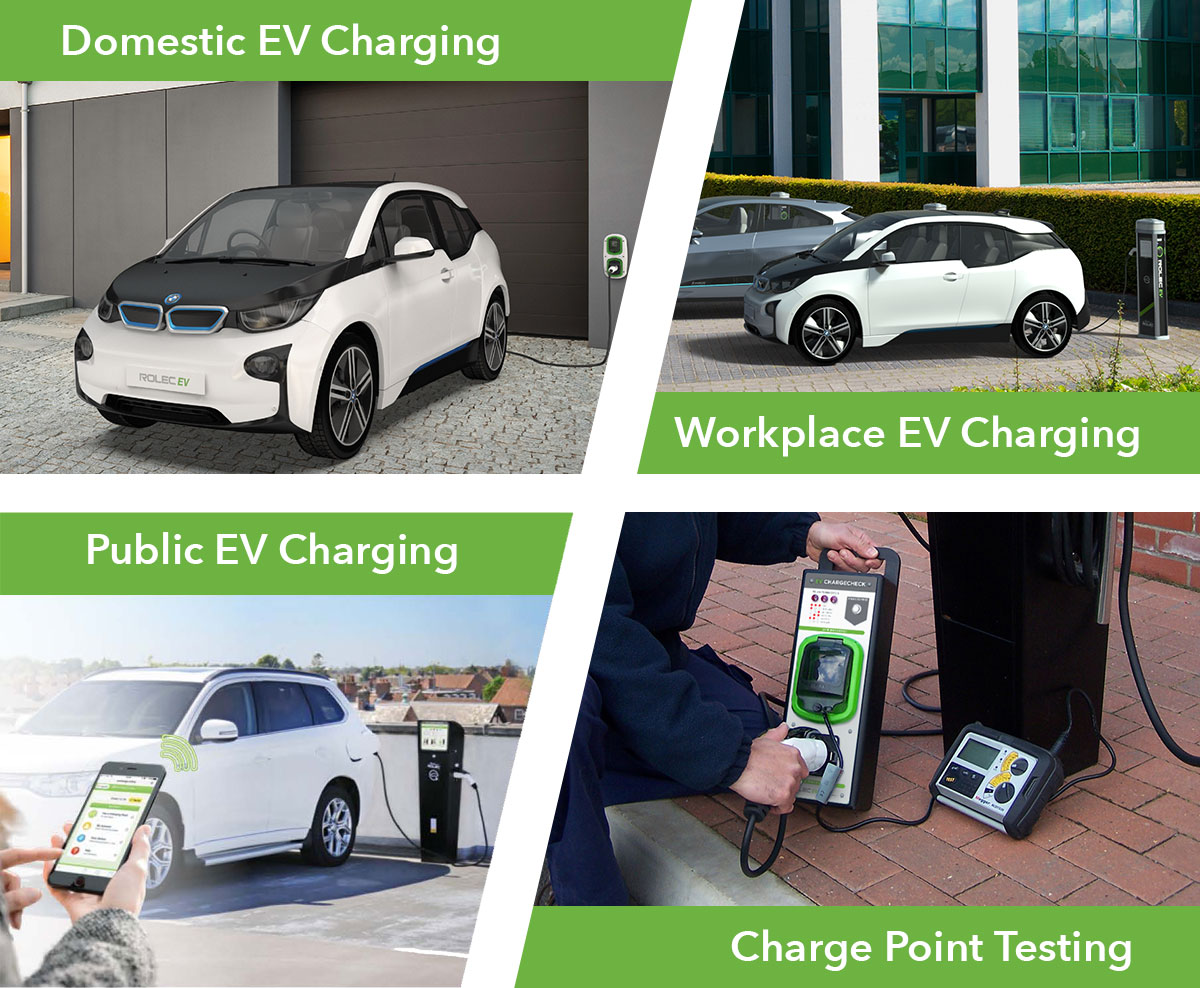 Domestic EV Charging & Workplace EV Charging & Public EV Charging & Charge Point Testing